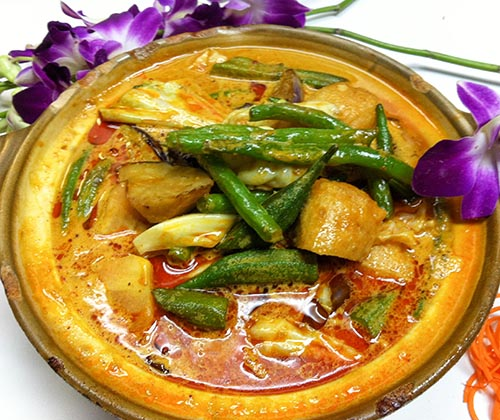 78. Malaysian Curry Assorted Veg. Casserole