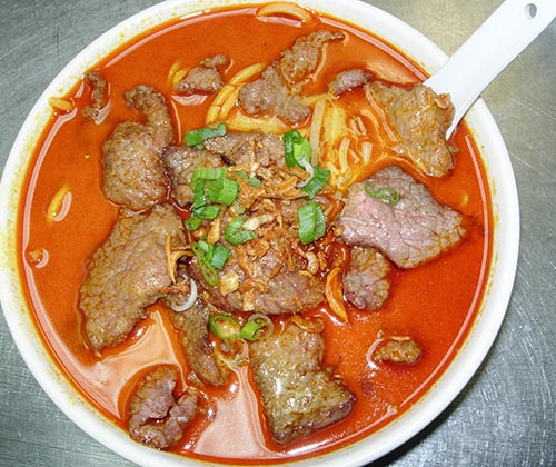 130. Curry Beef Noodle