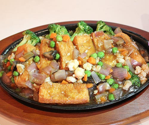 57. Sizzing Tofu